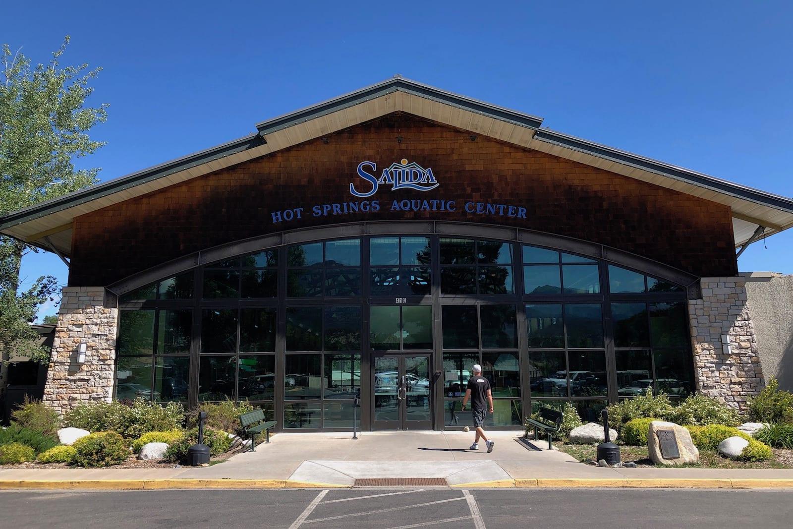 Salida Hot Springs Entrance
