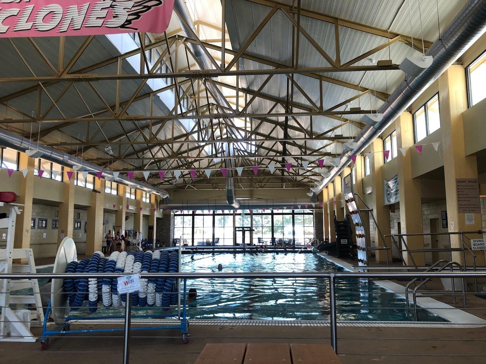 Salida Hot Springs Indoor Olympic Swimming Pool