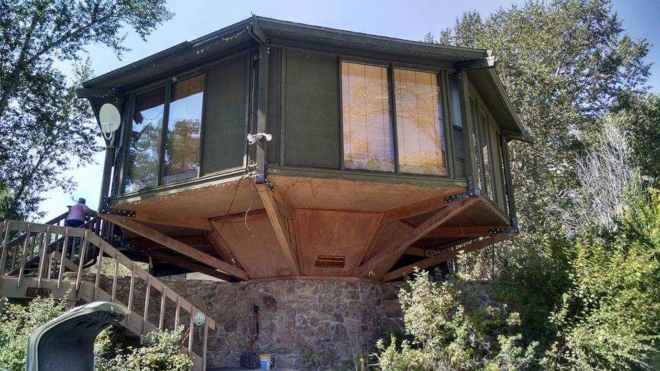 Treehouse Hot Springs Cabin Rental Nathrop CO