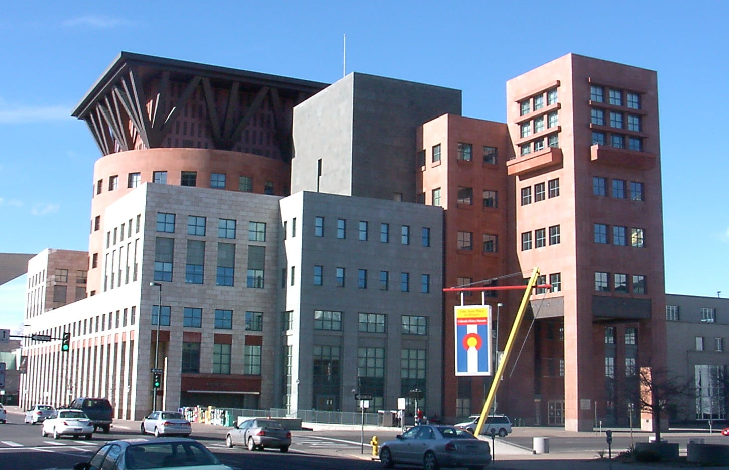 image of Denver central library