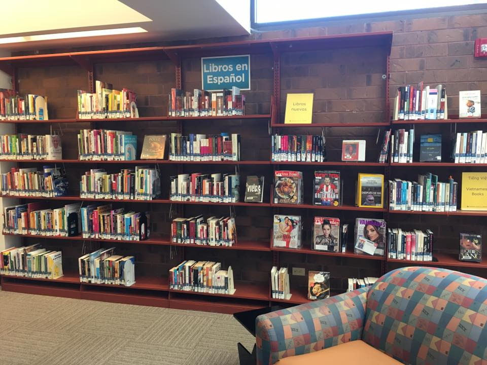 image of hampden branch library
