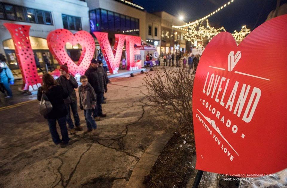 image of loveland sweetheart festival
