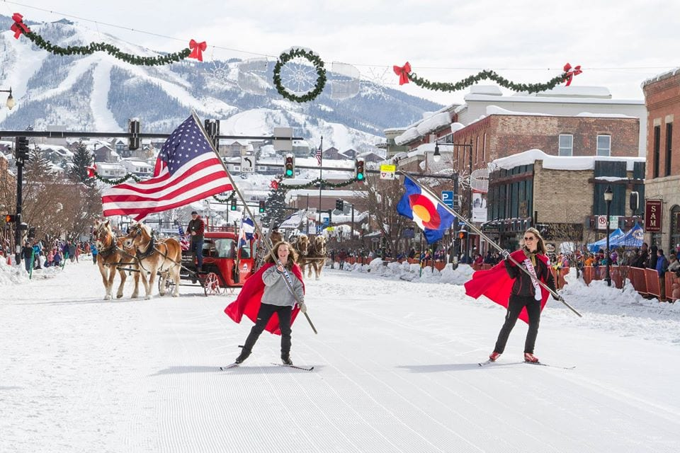 image of steamboat springs winter carnival