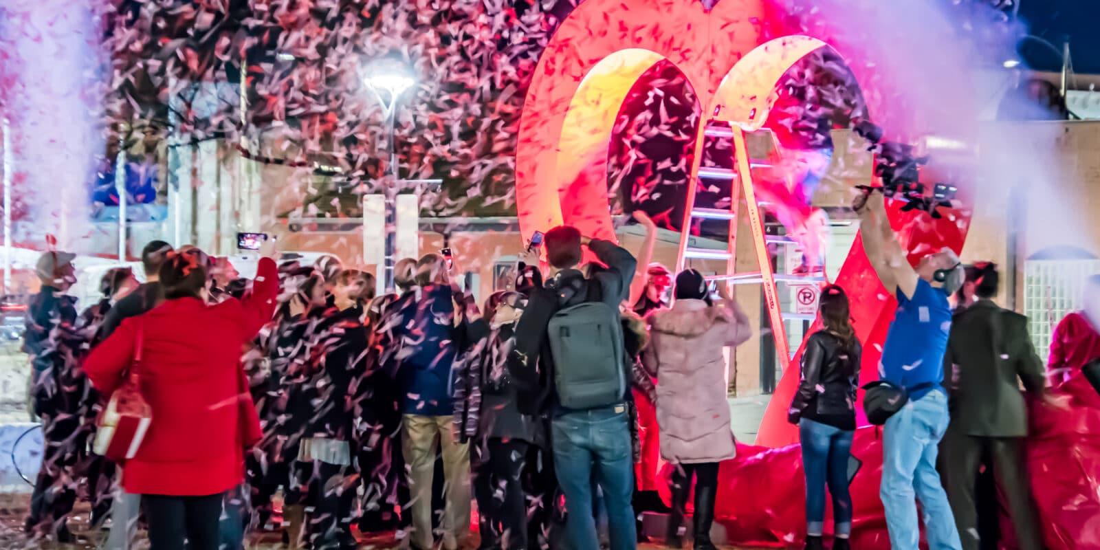 image of sweetheart festival in Loveland Colorado