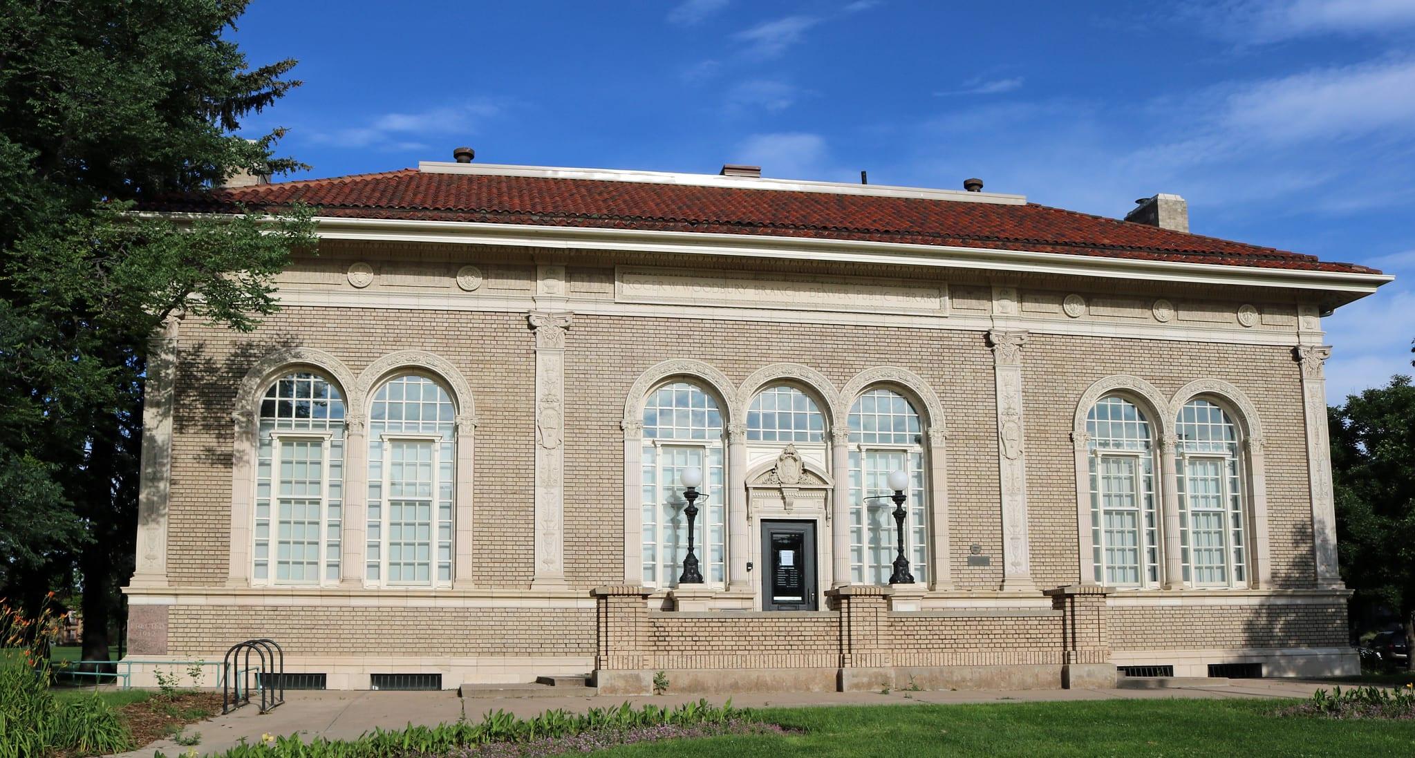image of woodbury library