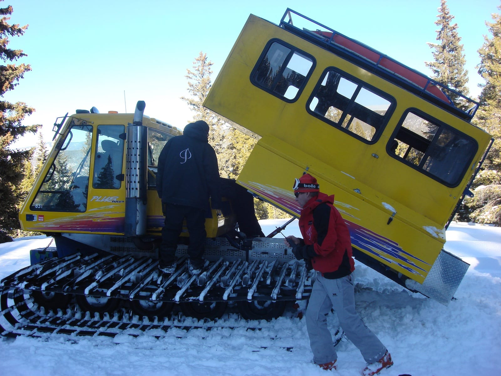 Aspen Powder Tours Snowcat Skiing