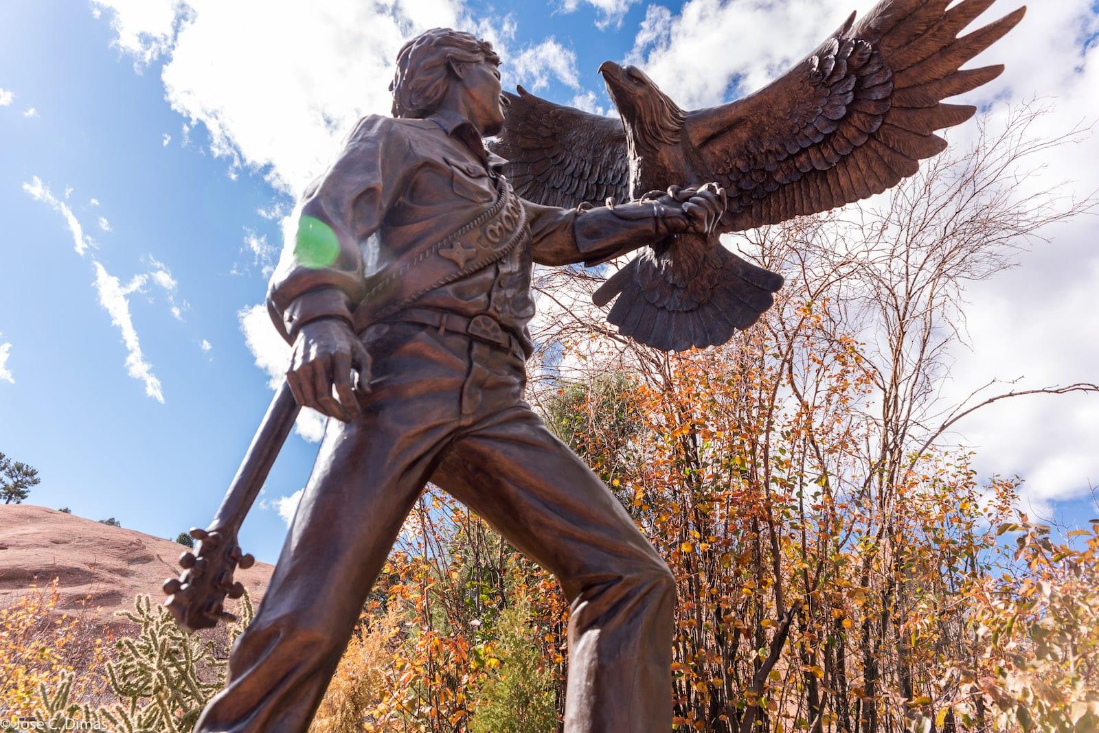 John Denver Statue Colorado Music History