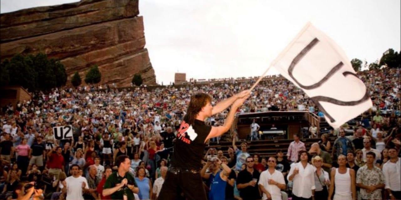 U2 Live at Red Rocks Morrison Colorado Concert