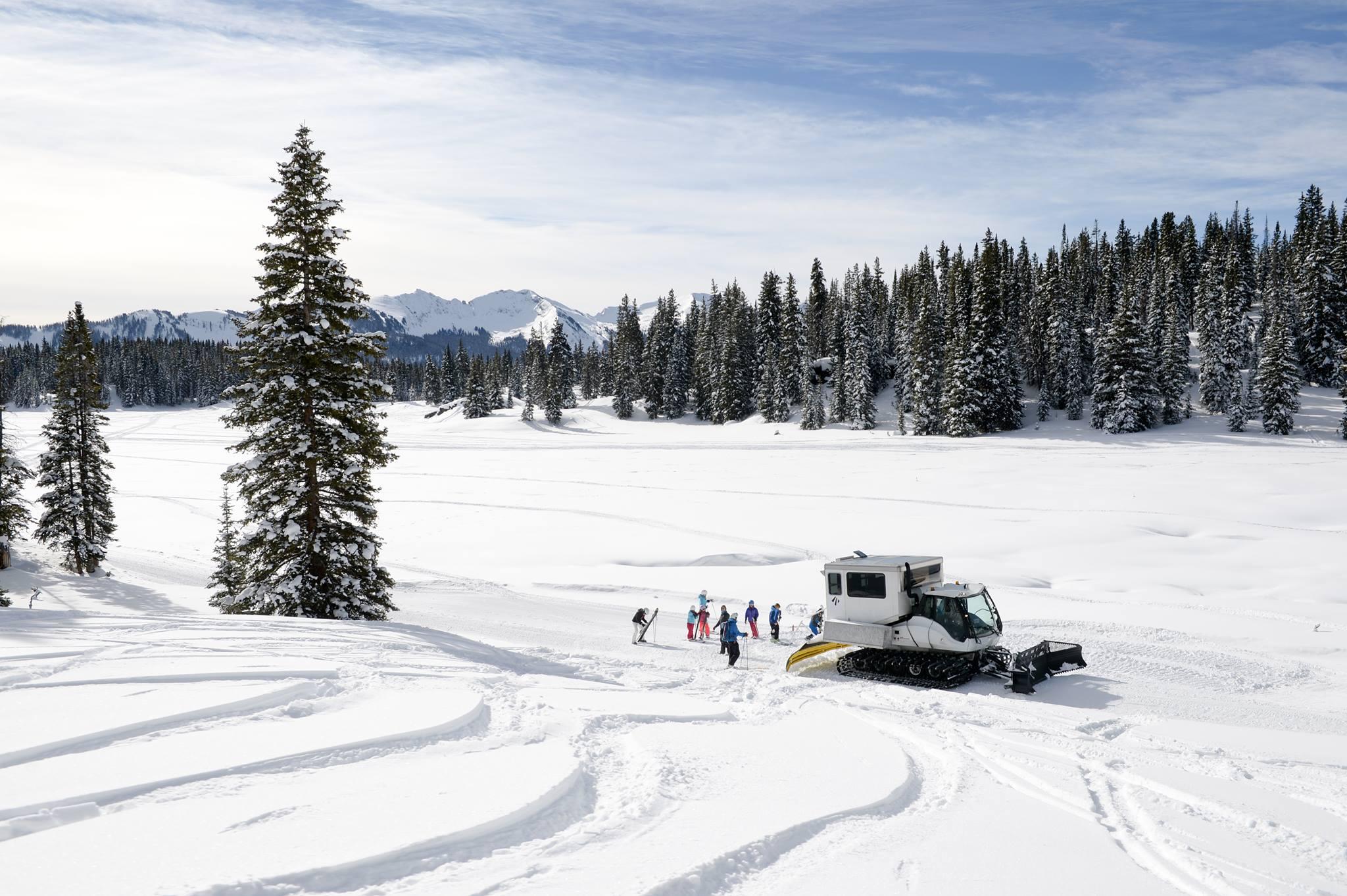 Eleven Experience Snowcat Skiing Irwin Colorado