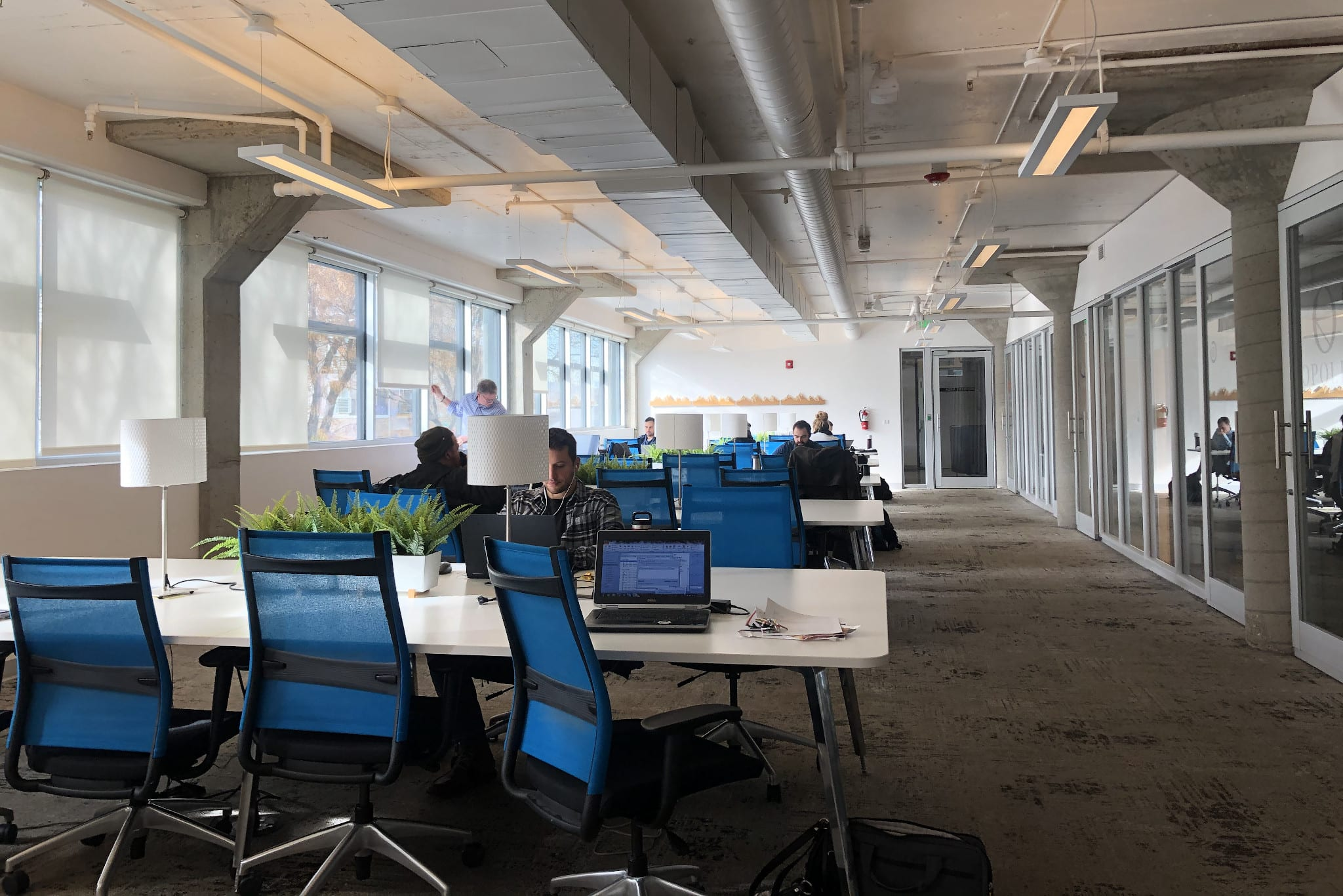 Enterprise Coworking Spacer RiNo Denver CO Shared Workstations