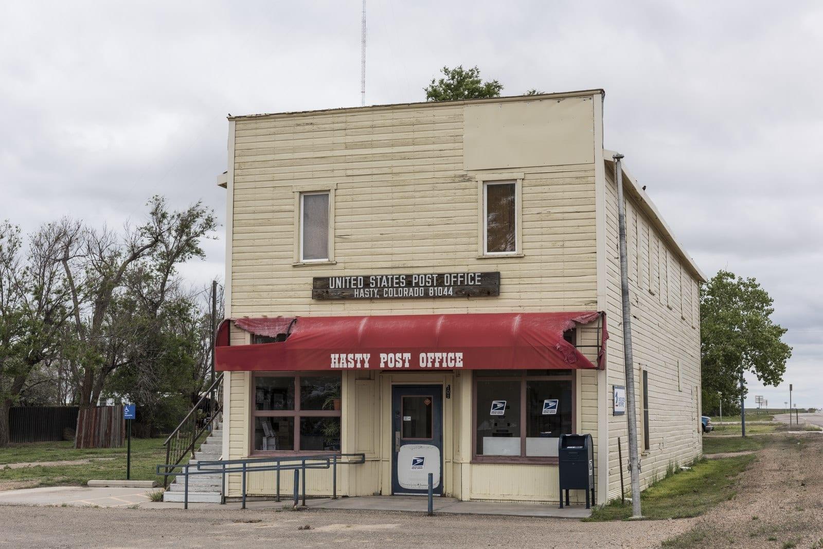 Hasty Colorado Post Office