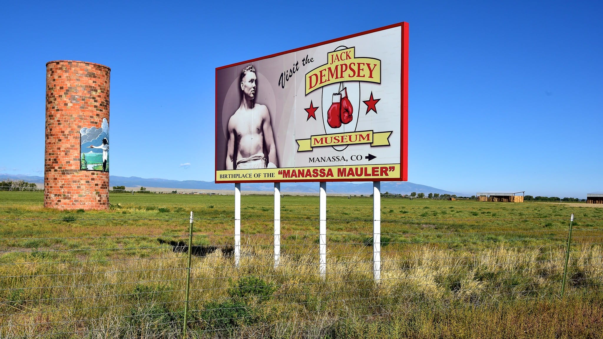 image of jack dempsey sign