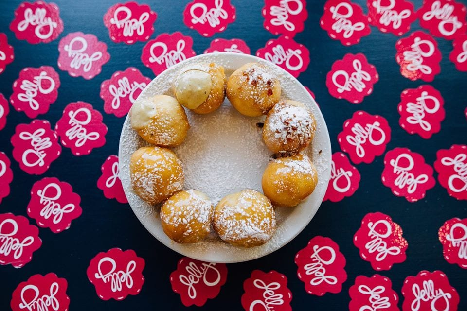 image of donut holes at jelly u cafe