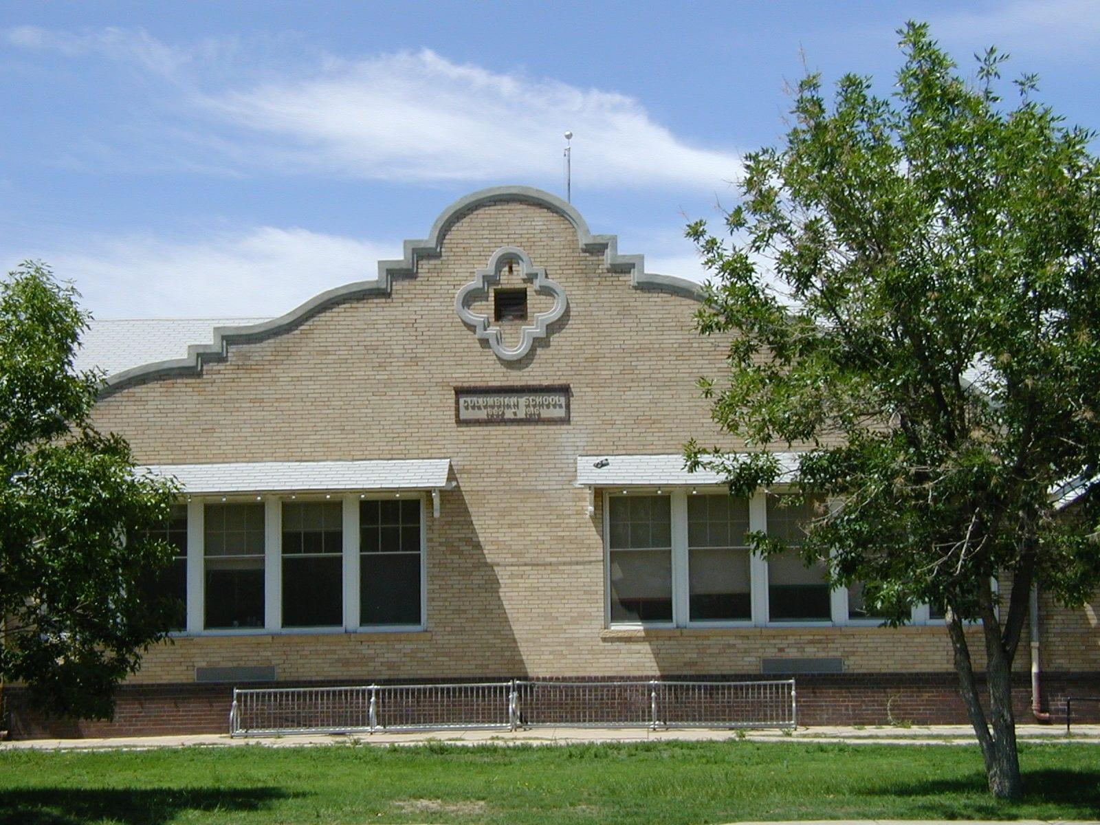 Las Animas Colorado Columbian Elementary School