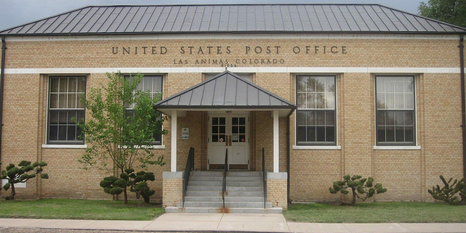 Las Animas Colorado Post Office