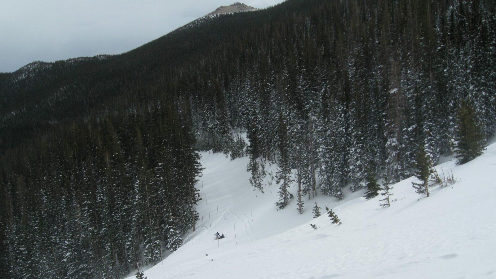 Lost Colorado Ski Area Hidden Valley RMNP Estes Park