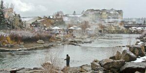 Pagosa Springs CO Winter Fishing San Juan River