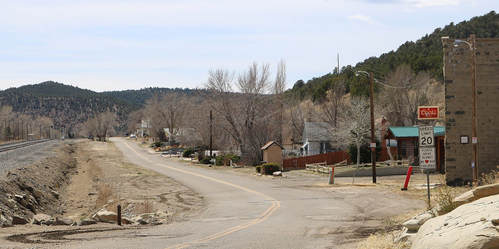 Starkville Colorado East Railroad Avenue
