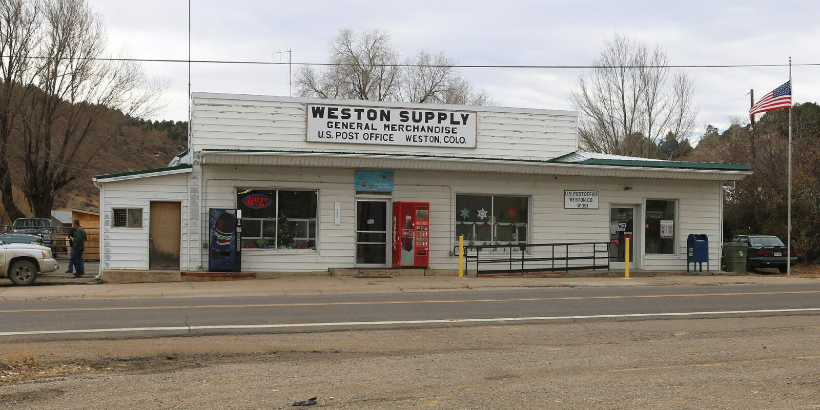 Weston CO Weston Supply General Store U.S. Post Office