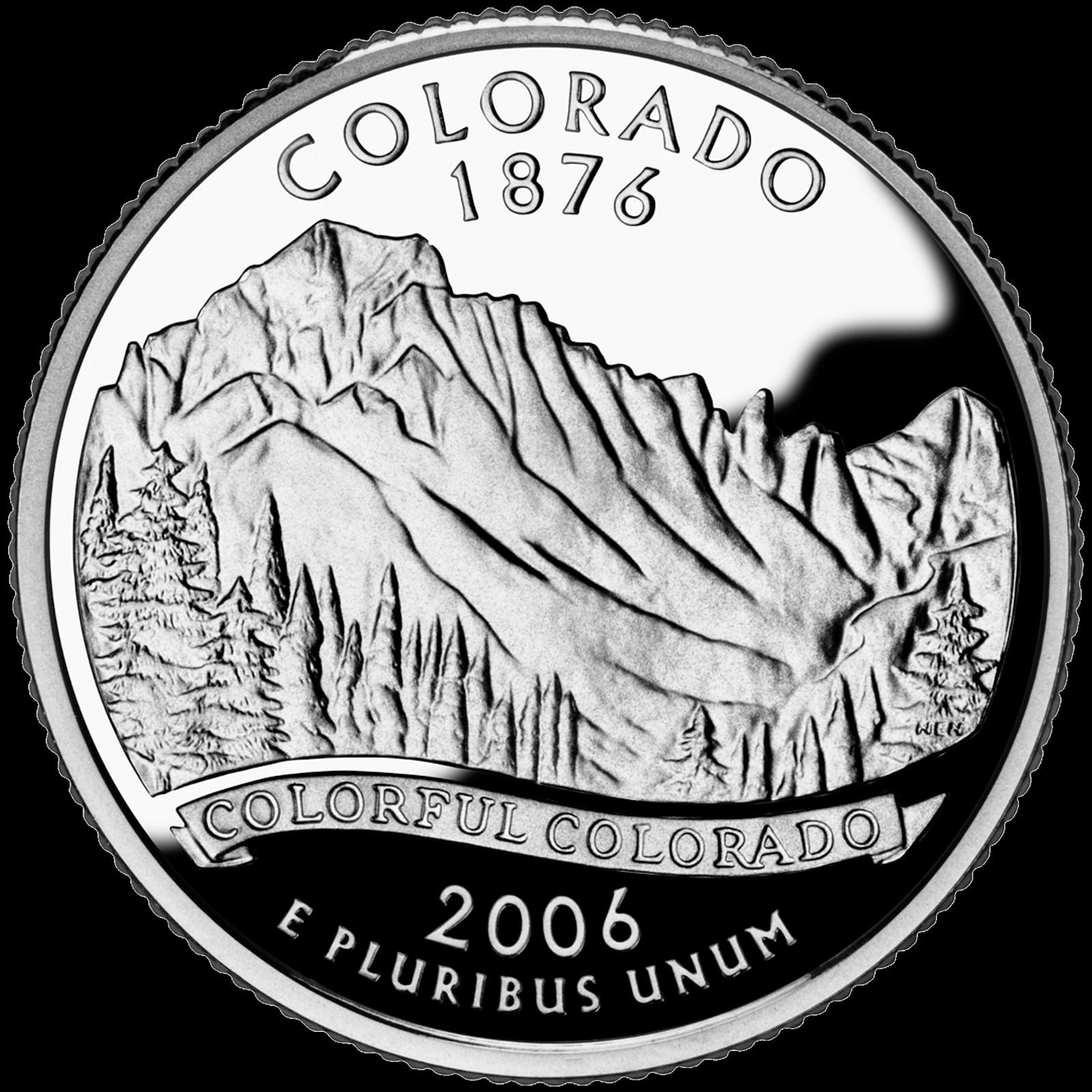 2006 Colorado State Quarter Dollar