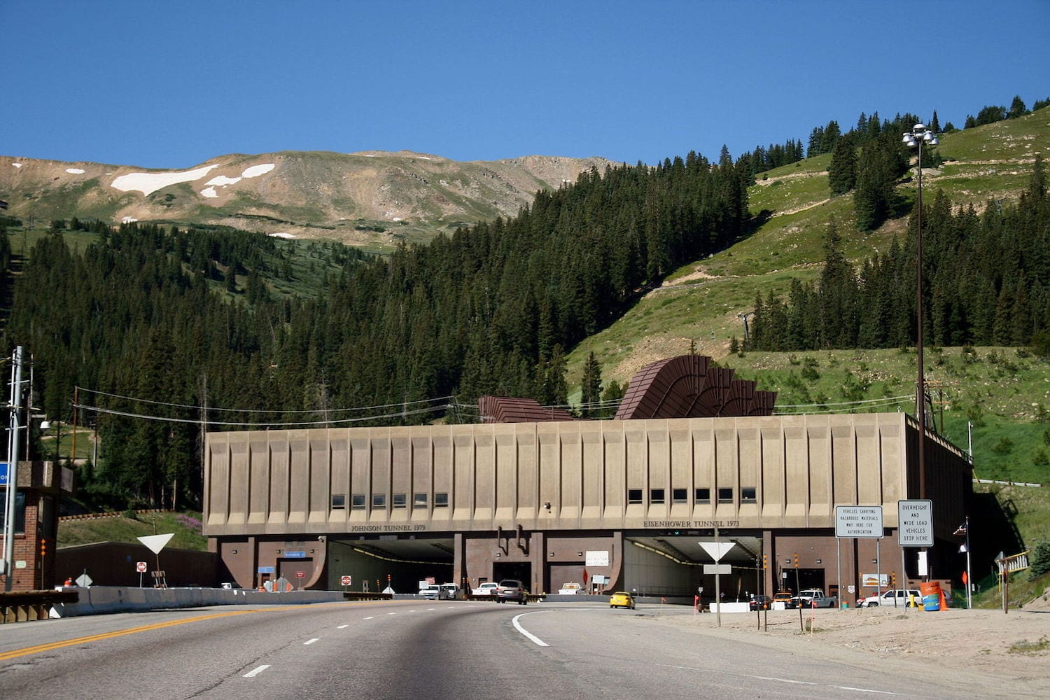 Eisenhower Memorial Tunnel Eastern Portal Colorado