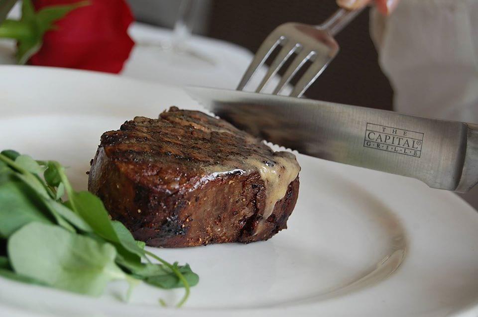 image of steak at capital grille denver