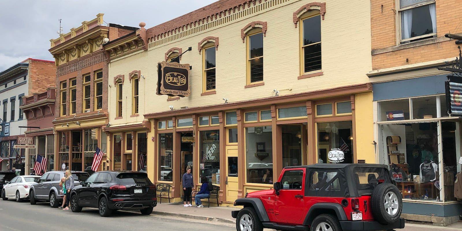 Beau Jo's Colorado Pizza Idaho Springs