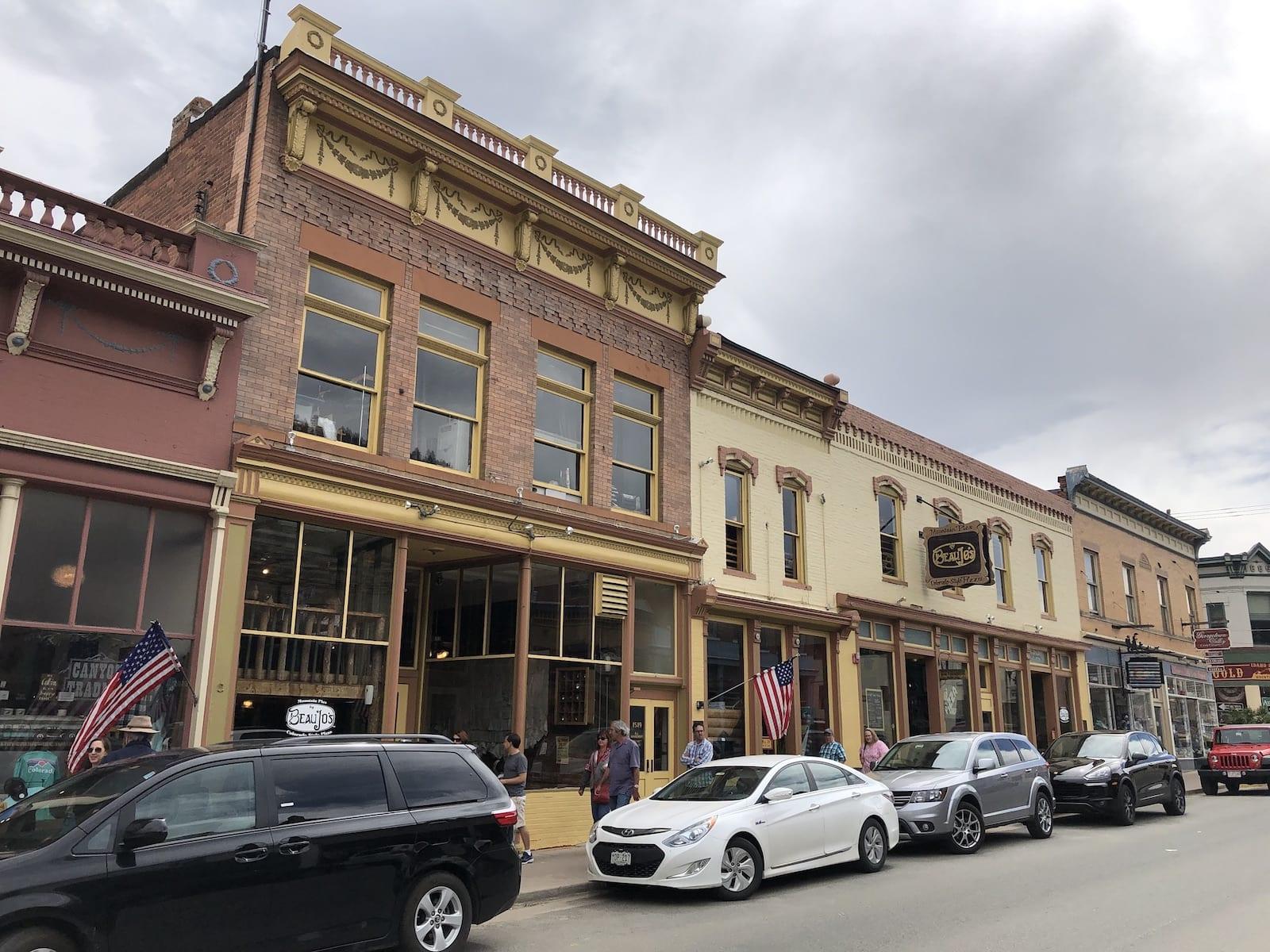 Historic Beau Jo's Colorado Pizza Idaho Springs