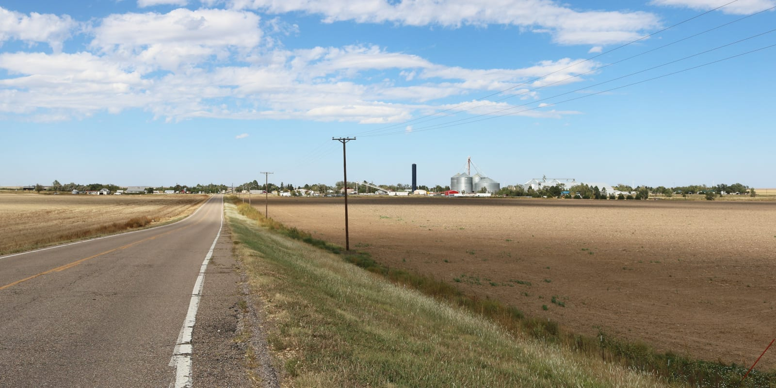 Bethune Colorado Intersection of County Road 40 and I-70