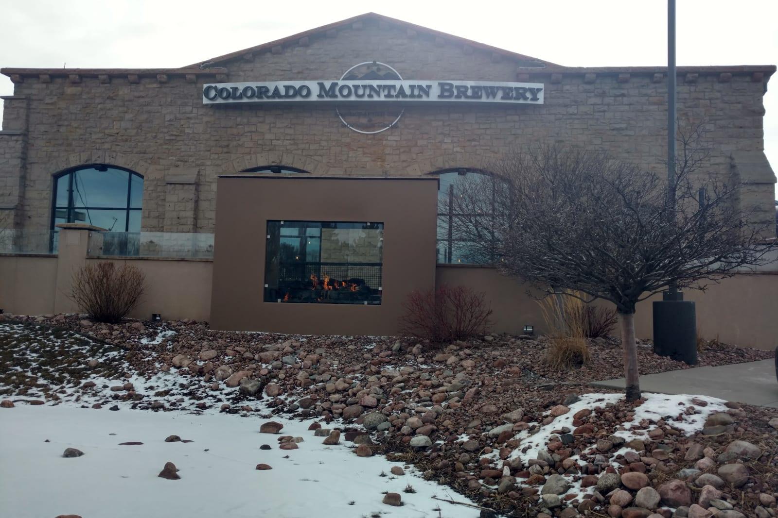 Pabrik Bir Colorado Mountain Colorado Springs