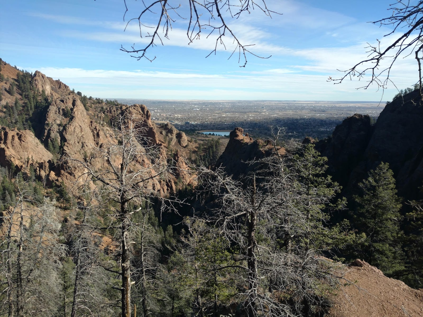 Colorado Springs Weather Late Fall Cheyenne Canyon