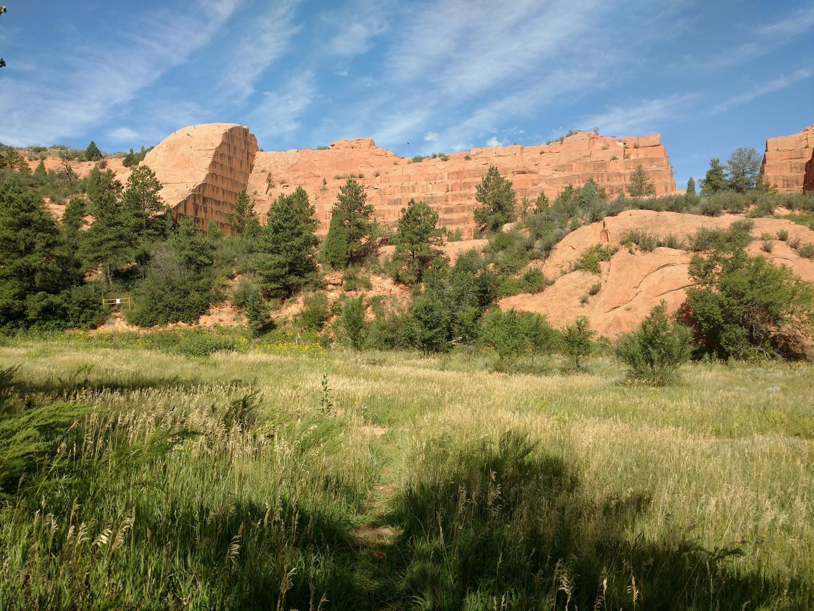 Colorado Springs Weather Spring Red Rocks Open Space