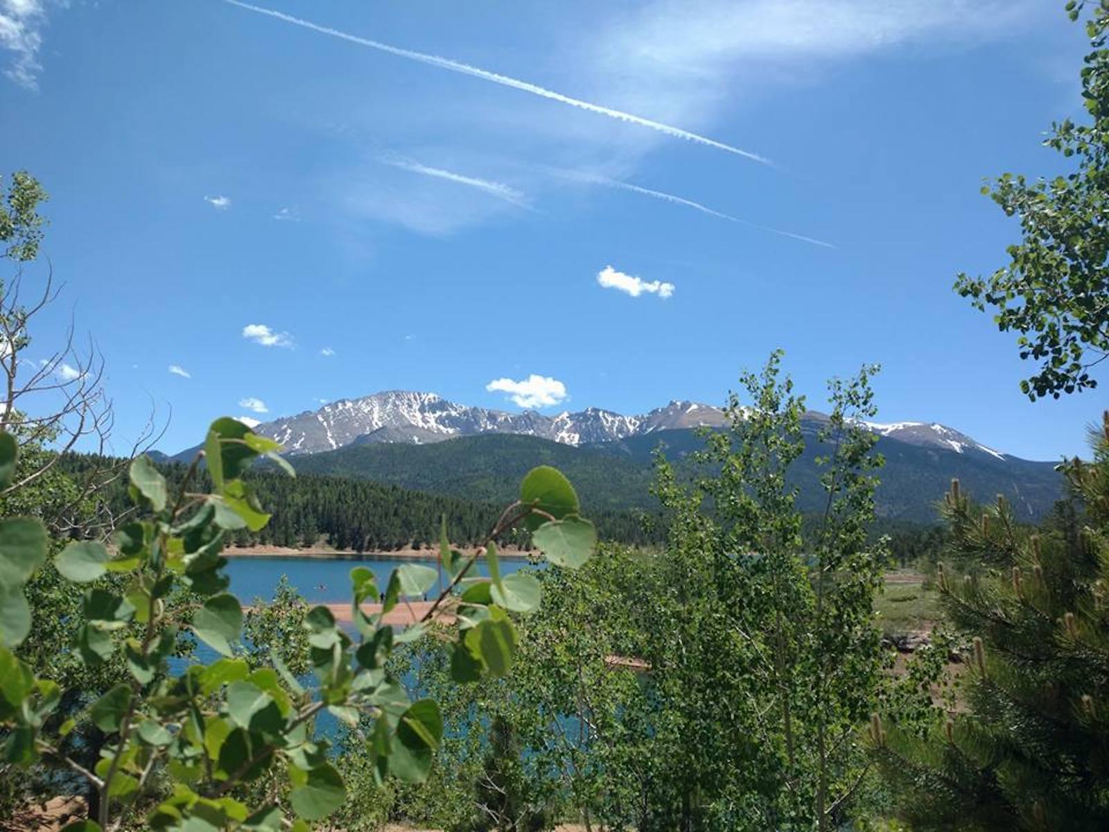 Colorado Springs Weather Summer Pikes Peak
