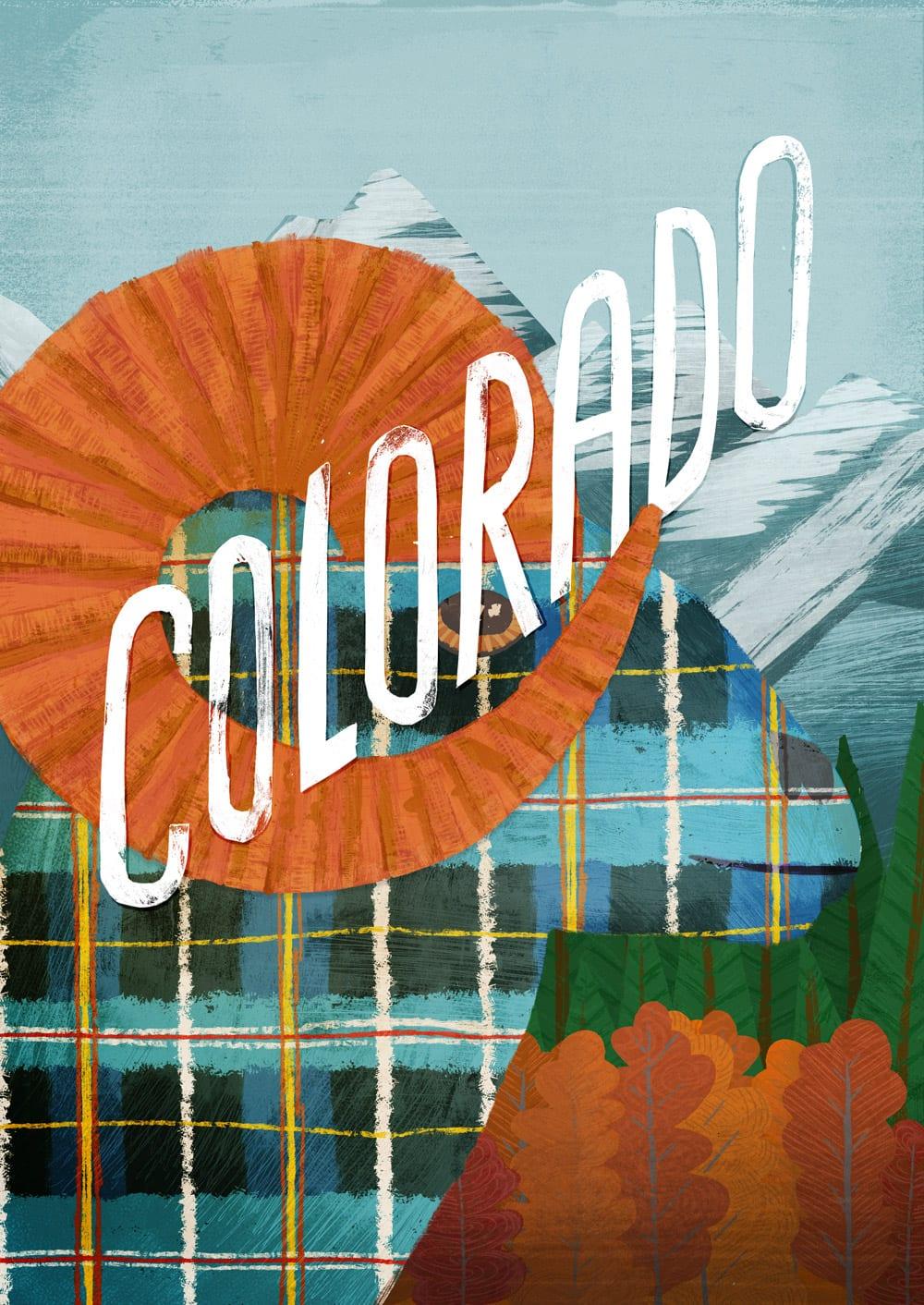 Colorado State Tartan