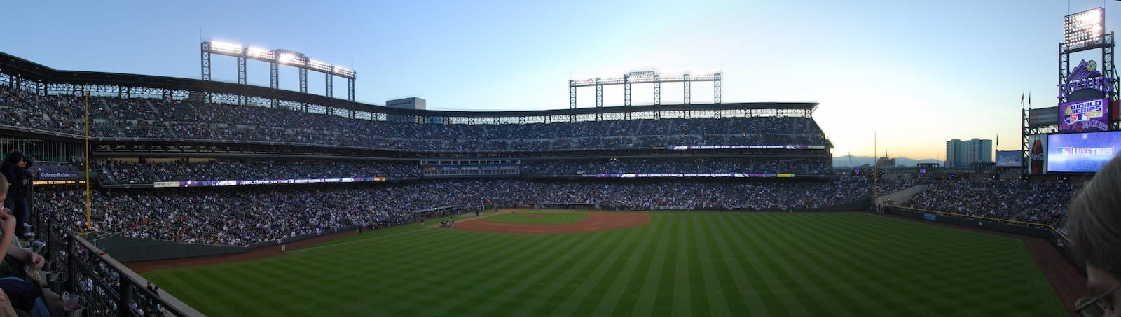 Coors Field Panorama Denver CO World Series 2007