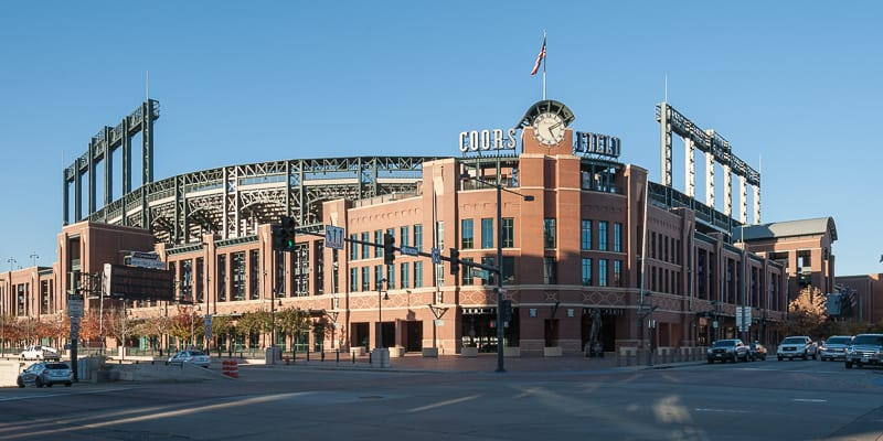 Coors Field Stadium Denver Colorado