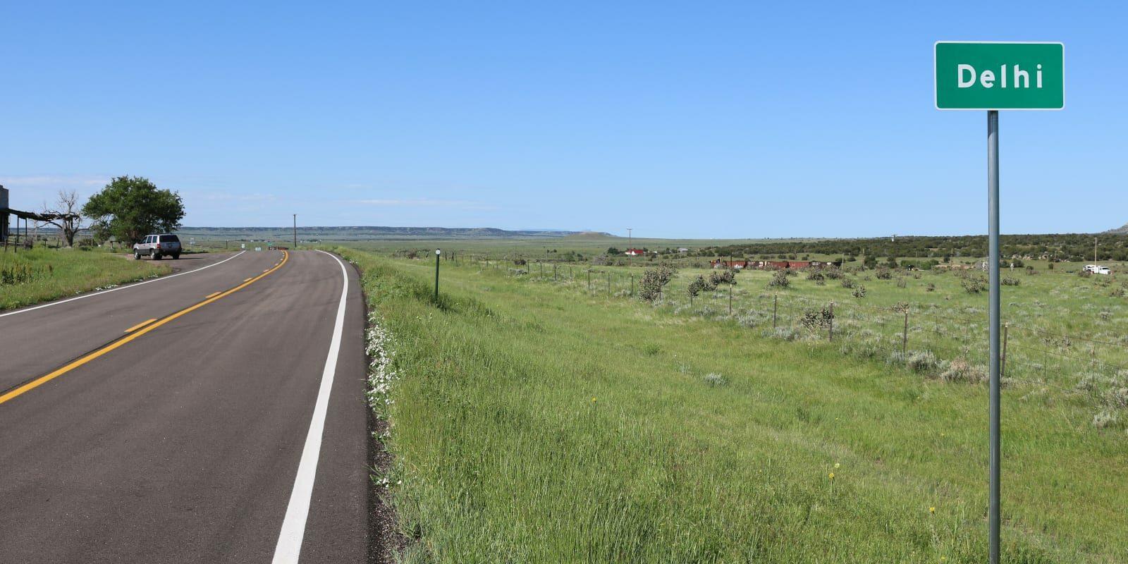 Delhi Colorado U.S. Route 350