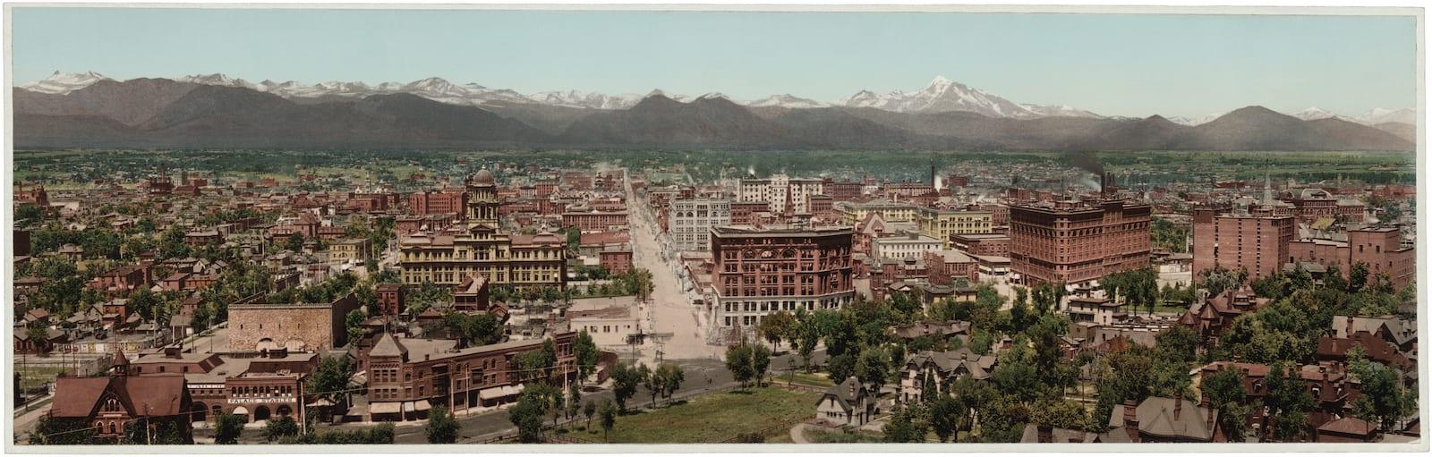 Denver Colorado Circa 1898