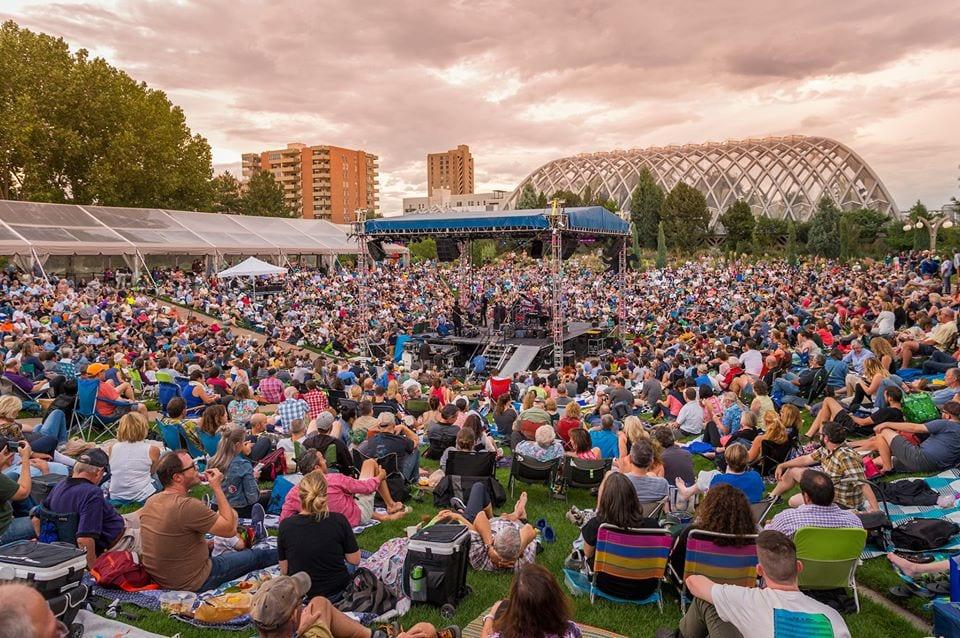 concerts at denver botanic gardens