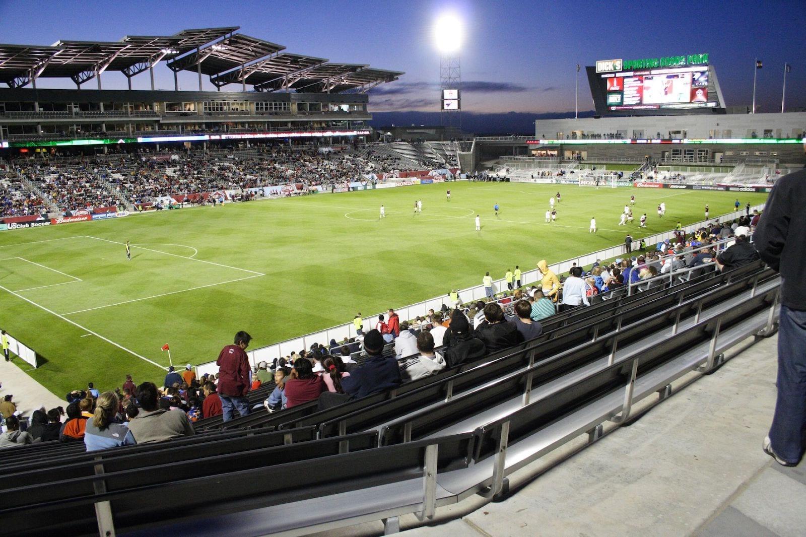 Dick's Sporting Goods Commerce City CO Colorado Rapids vs Chicago Fire