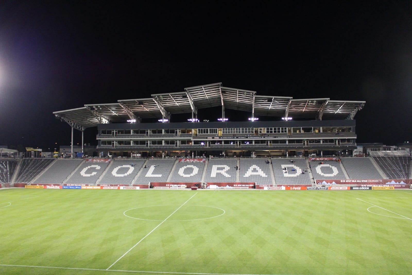 Dick's Sporting Goods Park Commerce City Colorado Rapids Bleachers
