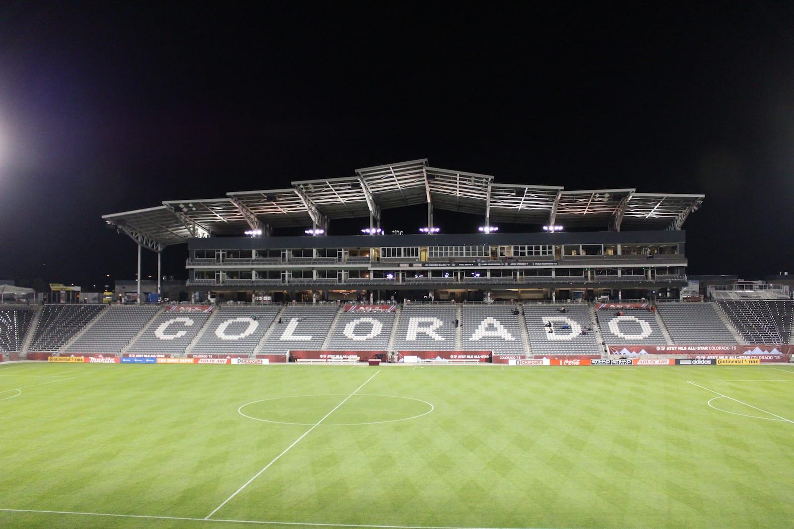 Dick's Sporting Goods Park Commerce City Colorado Rapids Bleachers