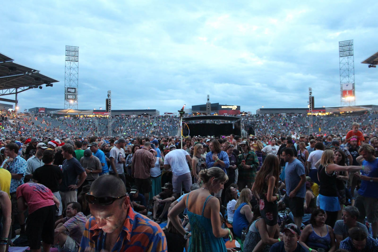 Dick's Sporting Goods Park Commerce City CO Phish Concert
