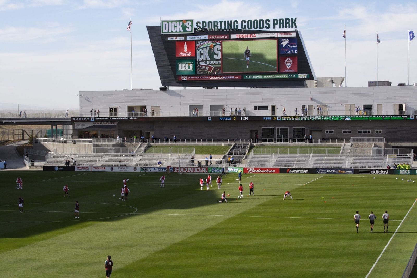 Dick's Sporting Goods Park Soccer Field