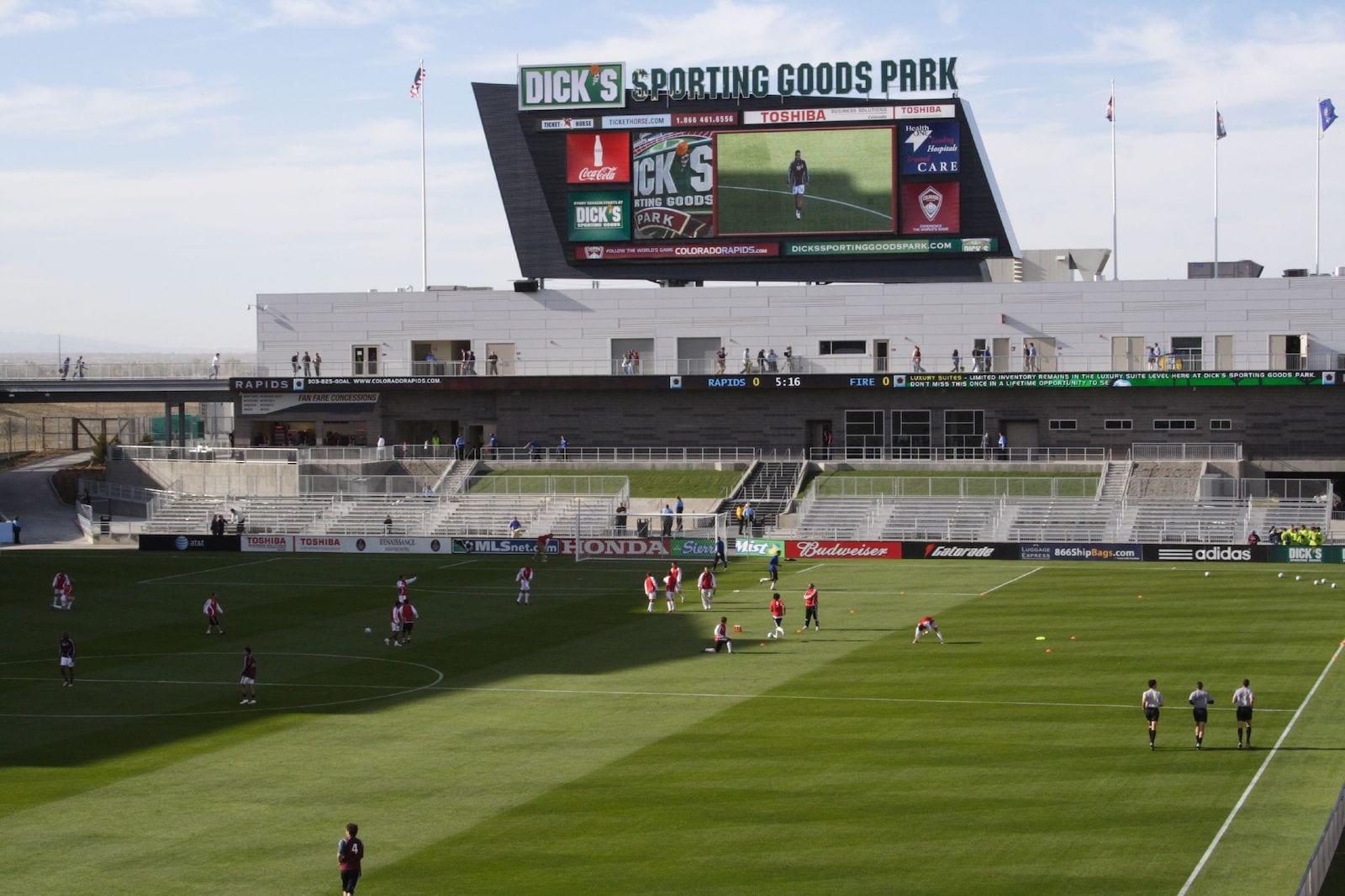 Dick's Sporting Goods Park Soccer Field