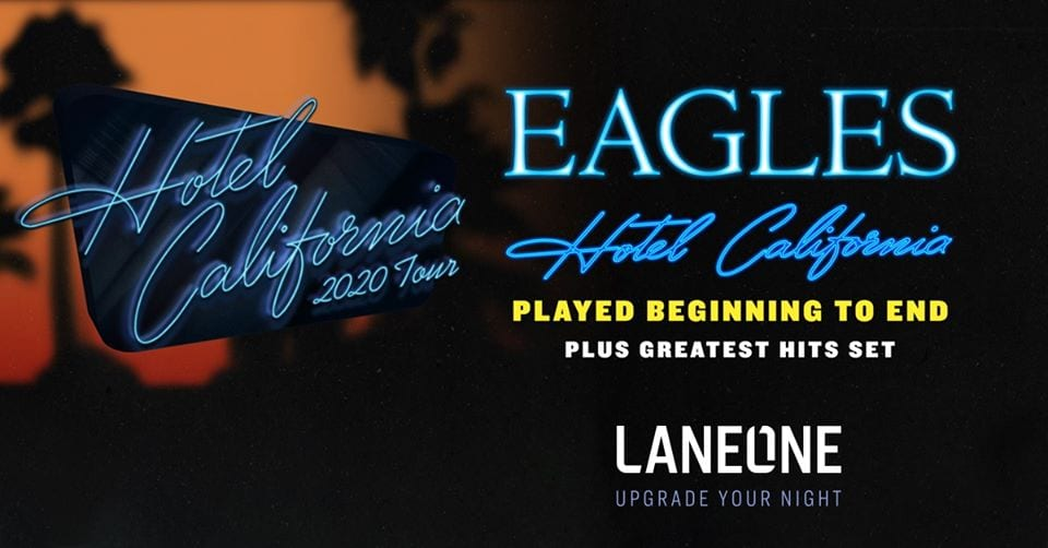 eagles tour at pepsi center, denver colorado