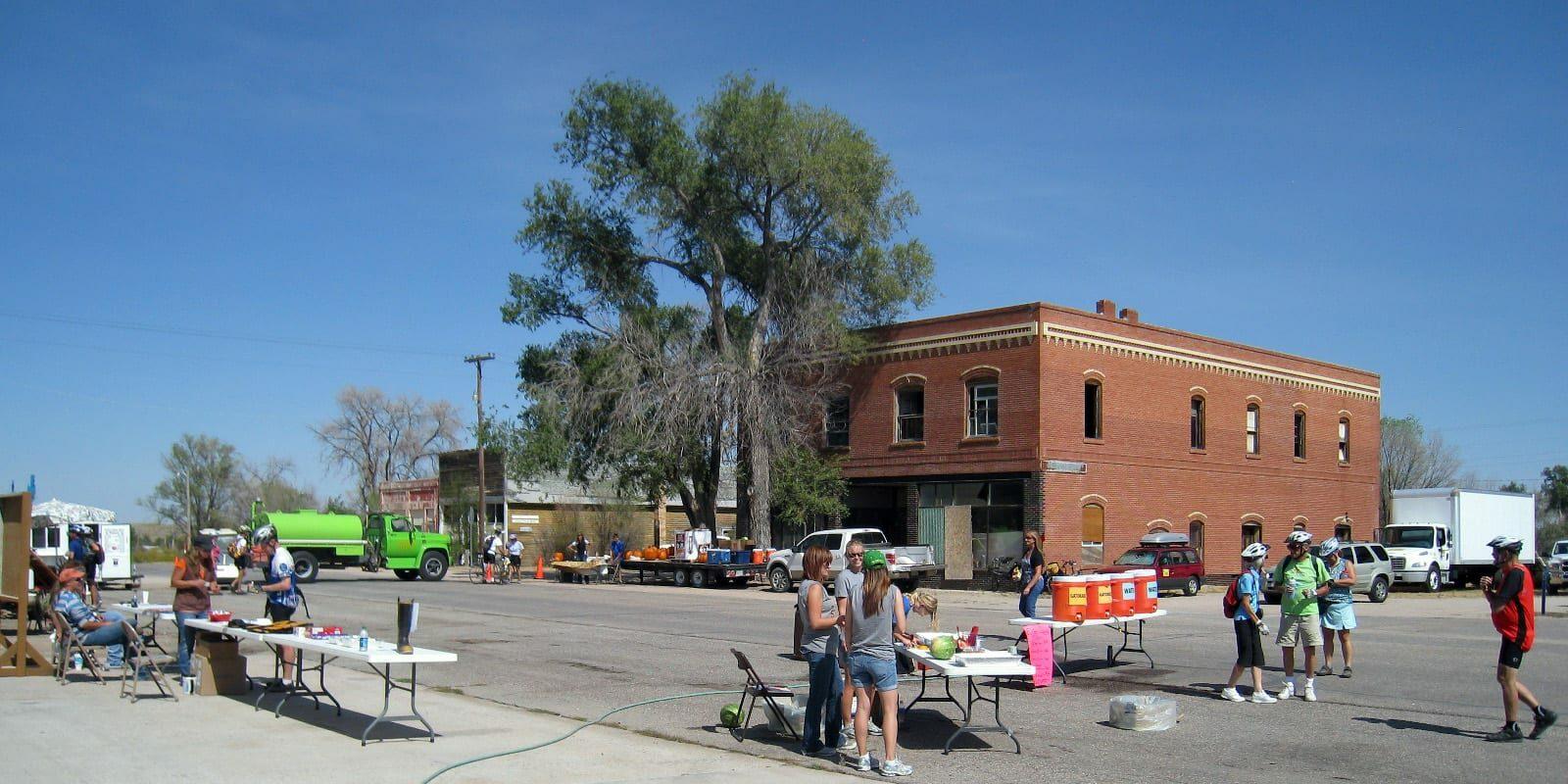 Eckley, CO Town Center Pedal The Plains