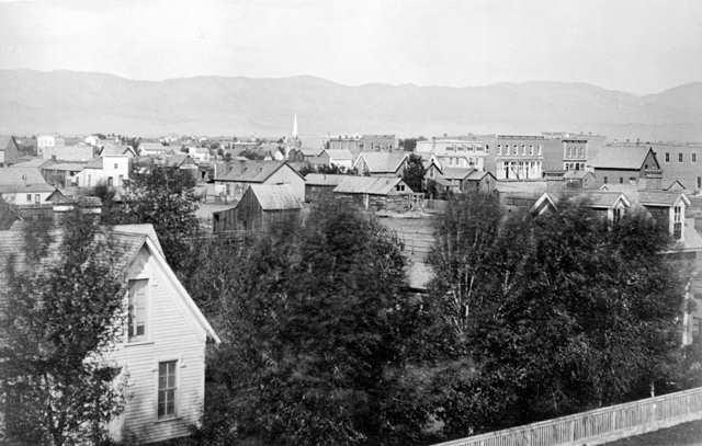 Fort Collins CO Circa 1875