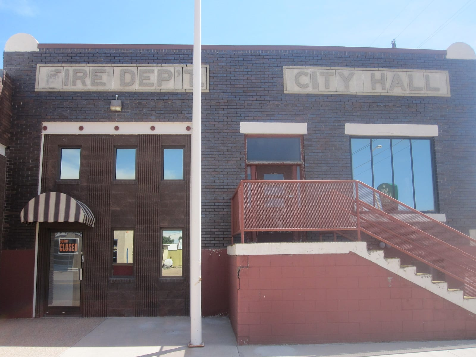 Fowler CO Fire Department and City Hall