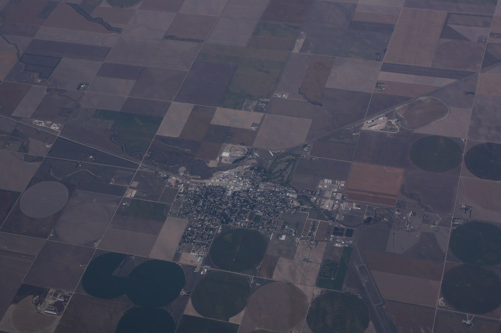 Holyoke Colorado Aerial View